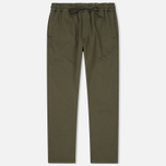 Мужские брюки YMC Alva Cotton Twill Olive фото- 0
