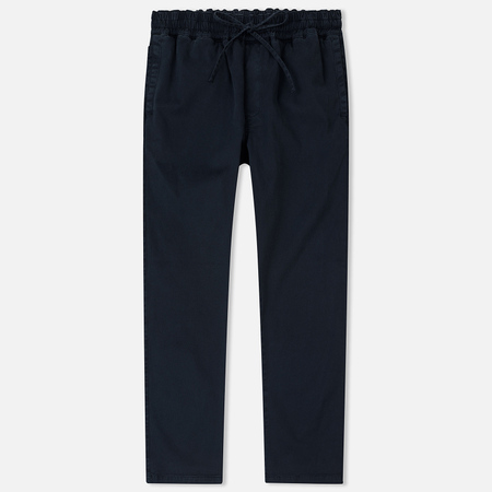 Мужские брюки YMC Alva Garment Dyed Cotton Twill Navy