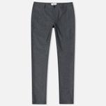 Мужские брюки YMC Deja Vu Charcoal фото- 0