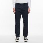 Мужские брюки YMC Deja Vu Cotton Twill Mid-Rise Navy фото- 5
