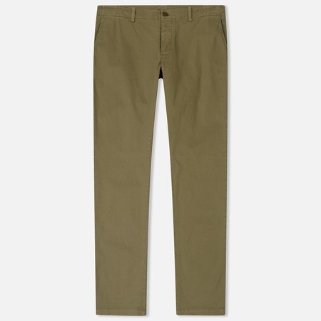 Мужские брюки YMC Deja Vu Cotton Twill Tapered Fit Olive