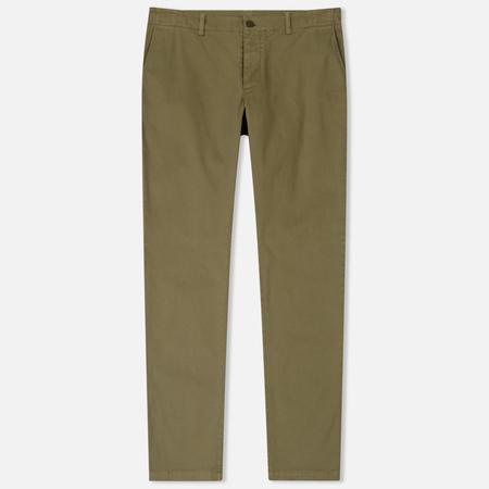 Мужские брюки YMC Deja Vu Cotton Twill Tapered Fit Olive