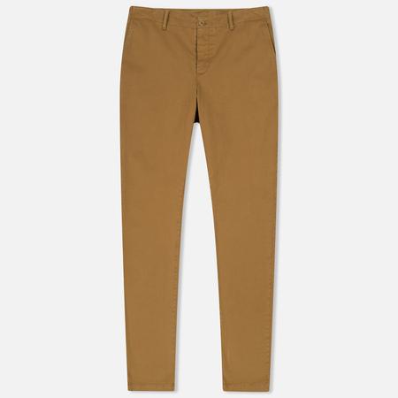 Мужские брюки YMC Deja Vu Garment Dyed Camel