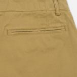 Мужские брюки YMC Deja Vu Slim Taper Khaki фото- 4