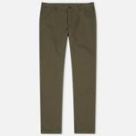 Мужские брюки YMC Deja Vu Slim Taper Olive фото- 0