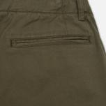 Мужские брюки YMC Deja Vu Slim Taper Olive фото- 4