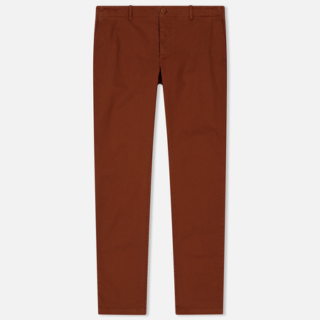 Мужские брюки YMC Deja Vu Slim Tapered Fit Brown
