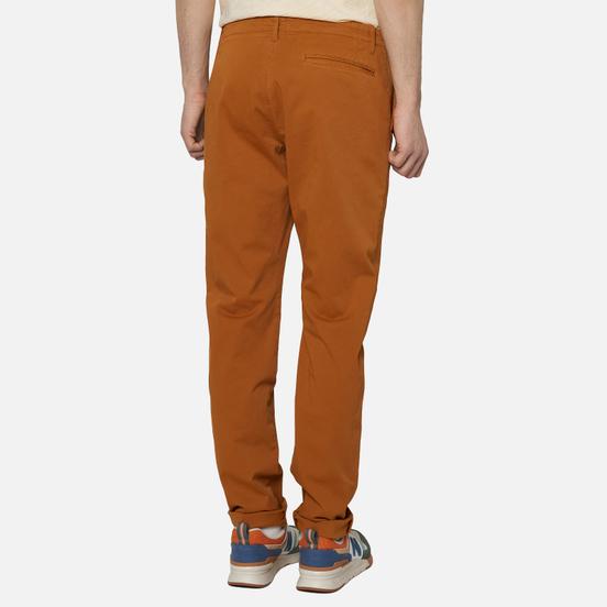 Мужские брюки YMC Deja Vu Tapered Leg Brown