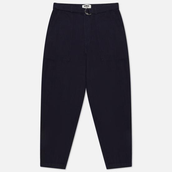 Мужские брюки YMC Poly Styrene Navy