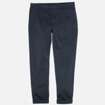 Мужские брюки YMC Slim Fit Chino Blue фото- 0