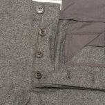 Мужские брюки YMC Slim Fit Wool Flannel Grey фото- 3