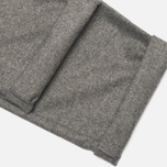 YMC Slim Fit Wool Flannel Men`s Trousers Grey photo- 4