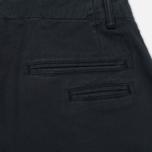 Мужские брюки YMC Thin White Duke Navy фото- 4