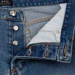 Мужские джинсы A.P.C. Petit Standard Indigo Washed фото- 1