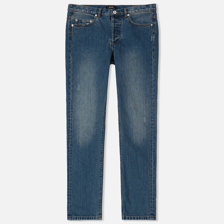 Мужские джинсы A.P.C. Standard Denim Indigo Washed