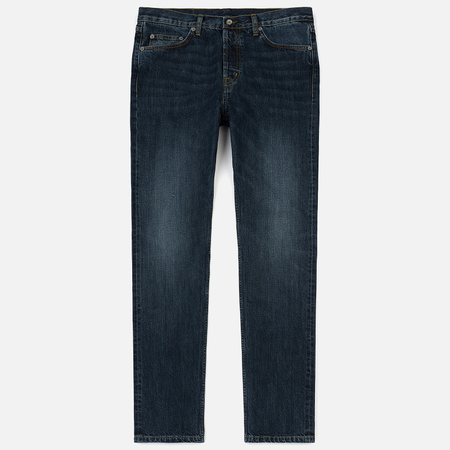 Мужские джинсы Albam Regular Leg 13.5 Oz Selvedge Denim Indigo