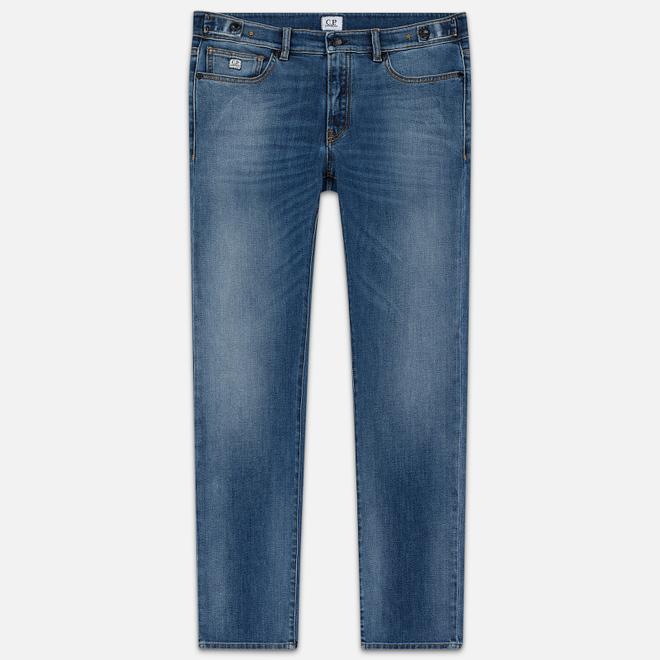 Мужские джинсы C.P. Company Regular Fit Five Pockets Stone Bleach
