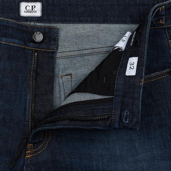 Мужские джинсы C.P. Company Regular Fit Five Pockets Stone Brushed