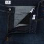 Мужские джинсы C.P. Company Regular Fit Five Pockets Stone Brushed фото - 1