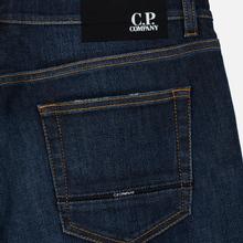 Мужские джинсы C.P. Company Regular Fit Five Pockets Stone Brushed фото- 4