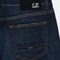 Мужские джинсы C.P. Company Regular Fit Five Pockets Stone Brushed фото - 4