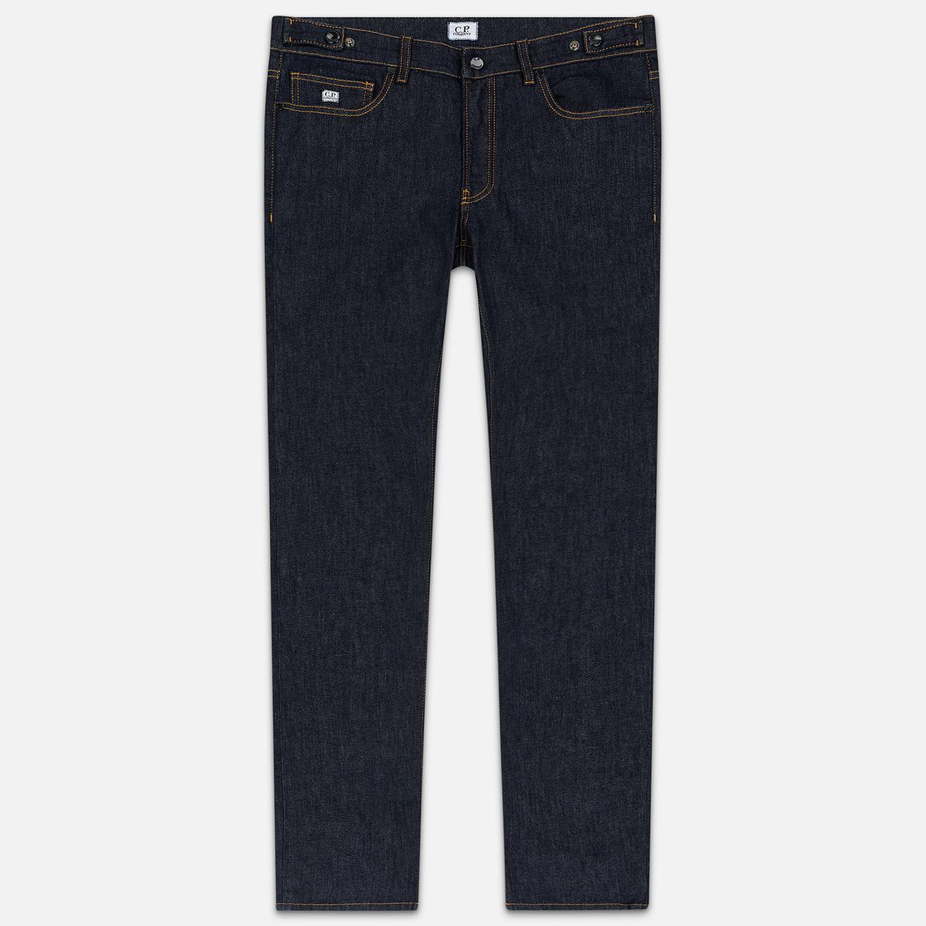 Мужские джинсы C.P. Company Regular Fit Five Pockets Unwashed Denim