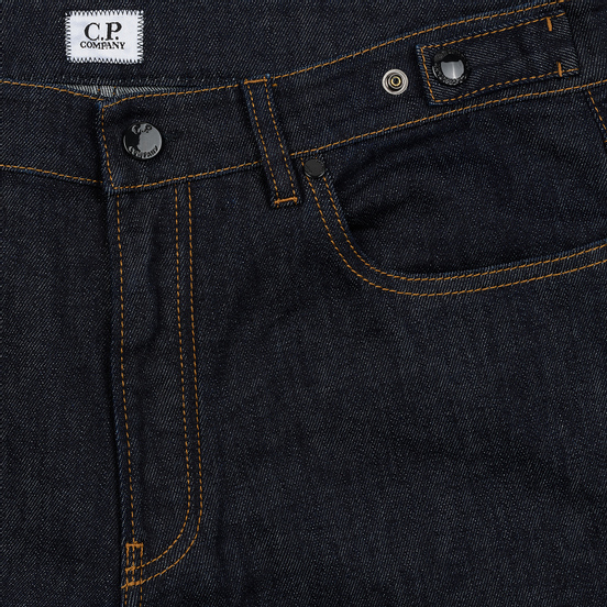 Мужские джинсы C.P. Company Regular Fit Five Pockets Unwashed Denim