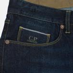 Мужские джинсы C.P. Company Trou Five Pockets Regular Blue фото- 3