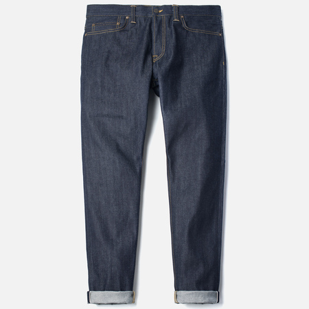 Мужские джинсы Carhartt WIP Kennedy 12.8 Oz Blue Rigid
