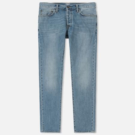 Мужские джинсы Carhartt WIP Klondike 12 Oz Blue Coast Bleached