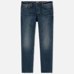 Мужские джинсы Carhartt WIP Klondike 12 Oz Blue Dark Coast Washed фото- 0