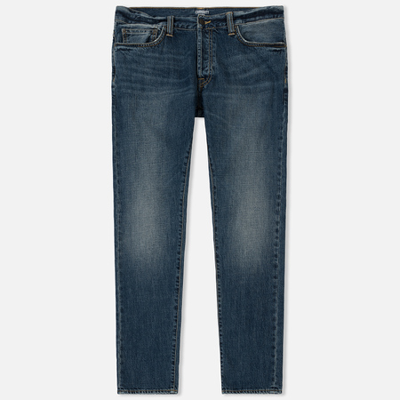 Мужские джинсы Carhartt WIP Klondike 12 Oz Blue Dark Coast Washed