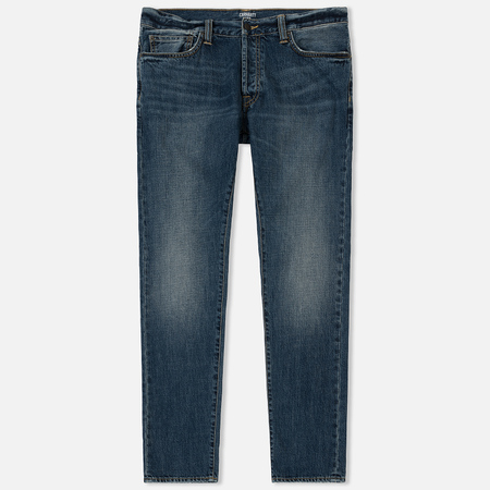 Мужские джинсы Carhartt WIP Klondike 12 Oz Blue Dark Coast Washed