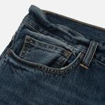 Мужские джинсы Carhartt WIP Klondike 12 Oz Blue Dark Coast Washed фото- 3