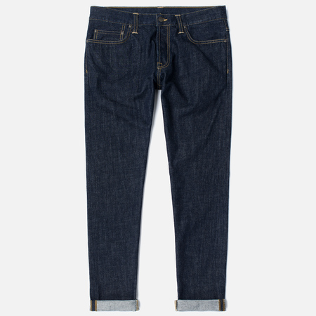 Carhartt WIP Klondike 12 Oz Men's Jeans Blue Rinsed
