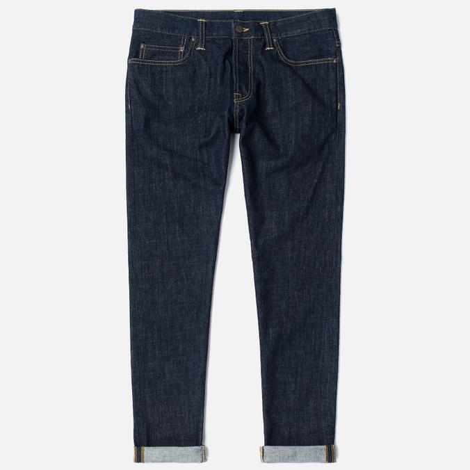 Carhartt WIP Klondike 12 Oz Men's Jeans Blue Rinsed