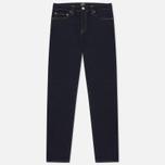 Мужские джинсы Carhartt WIP Klondike 12 Oz Blue Rinsed фото- 1