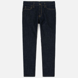 Мужские джинсы Carhartt WIP Klondike 12 Oz Blue Rinsed фото- 0