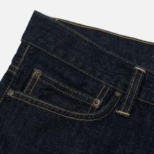 Мужские джинсы Carhartt WIP Klondike 12 Oz Blue Rinsed фото- 3