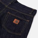 Carhartt WIP Klondike 12 Oz Men's Jeans Blue Rinsed photo- 3