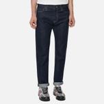 Мужские джинсы Carhartt WIP Klondike 12 Oz Blue Rinsed фото- 4
