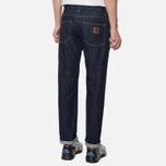 Carhartt WIP Klondike 12 Oz Men's Jeans Blue Rinsed photo- 5