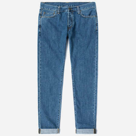 Мужские джинсы Carhartt WIP Klondike 12 Oz Blue Stone Washed