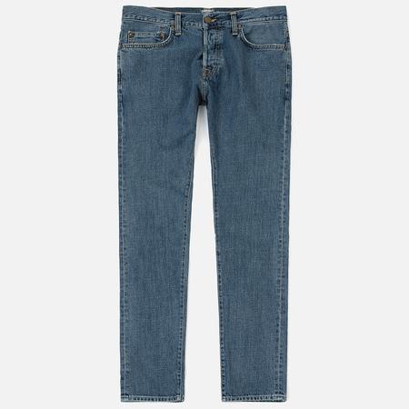 Мужские джинсы Carhartt WIP Klondike 12 Oz Blue Stone Washed