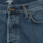 Мужские джинсы Carhartt WIP Klondike 12 Oz Blue Stone Washed фото- 1