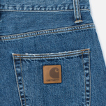 Мужские джинсы Carhartt WIP Klondike 12 Oz Blue Stone Washed фото- 3
