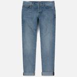 Мужские джинсы Carhartt WIP Klondike 12 Oz Blue True Bleached фото- 0