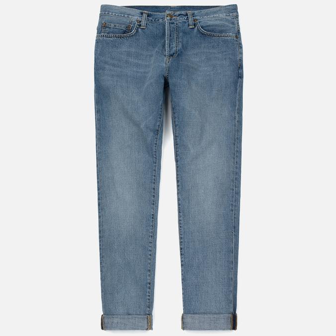 Мужские джинсы Carhartt WIP Klondike 12 Oz Blue True Bleached