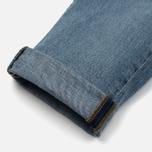 Мужские джинсы Carhartt WIP Klondike 12 Oz Blue True Bleached фото- 4