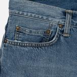 Мужские джинсы Carhartt WIP Klondike 12 Oz Blue True Bleached фото- 1